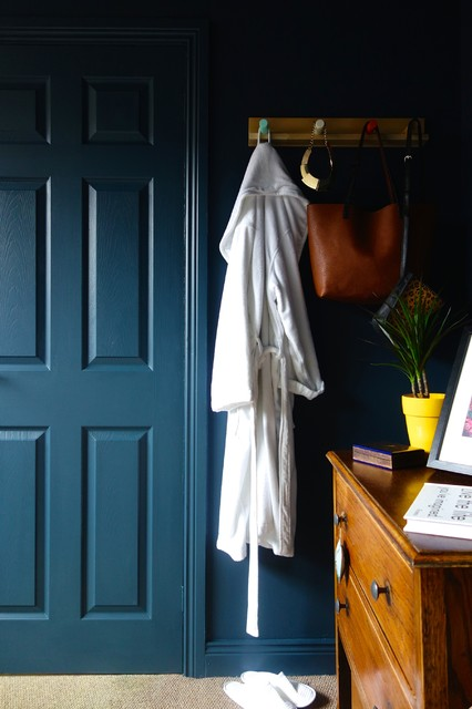 The Blue Room Midcentury Bedroom Yorkshire And