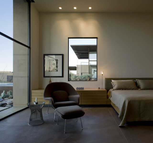 The Brown Residence modern bedroom