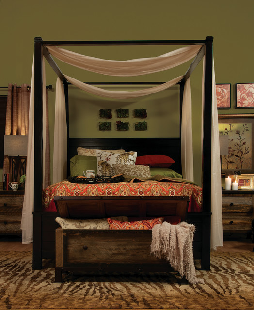 The Brownstone eclectic-bedroom