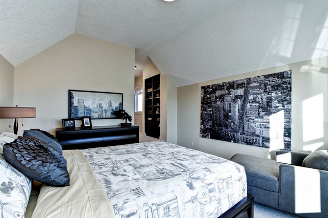 The Cambrian IV Showhome in Calgary, AB traditional-bedroom
