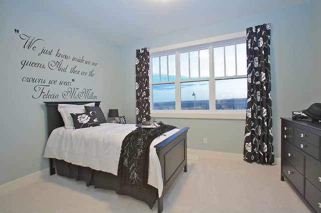 The Cambridge in Timberline eclectic bedroom