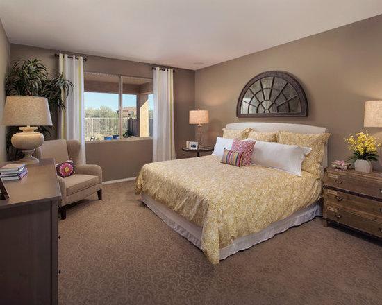 27 840 light brown bedroom design photos