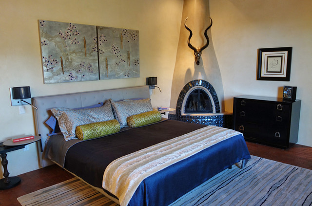 southwestern bedroom albuquerque by victoria price design for