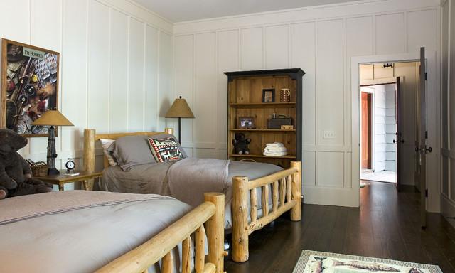 The Cliffs Vineyards rustic-bedroom