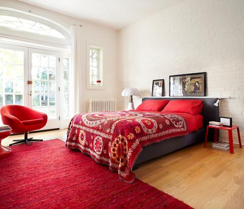 Giallo, viola o... Ecco i colori ideali per la camera da letto ...