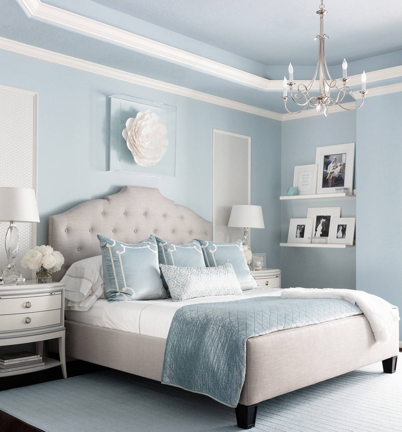 75 Beautiful Bedroom With Blue Walls Pictures Ideas January 2021 Houzz