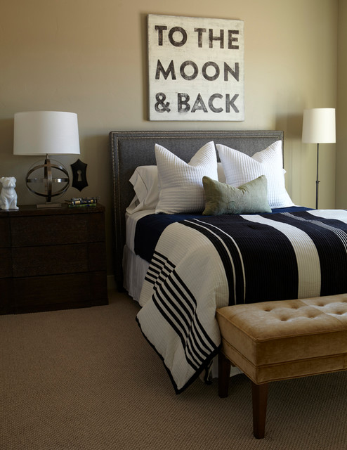 The Ferrara at Brookhaven Fields Model Home contemporary-bedroom