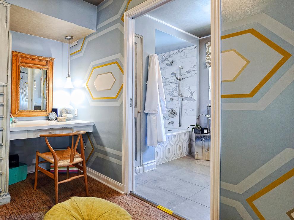 Trendy bedroom photo in Other