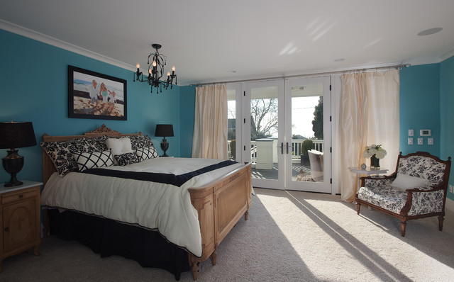 The Gambrel Roof Home traditional-bedroom