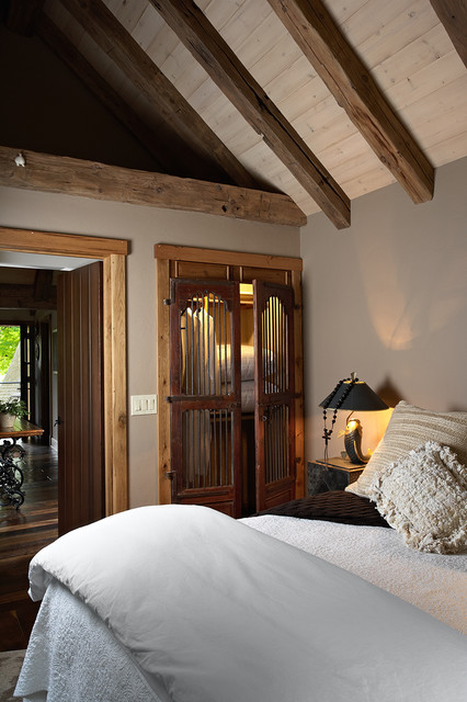 The Gatehouse - Rustic - Bedroom - minneapolis - by Murphy & Co. Design