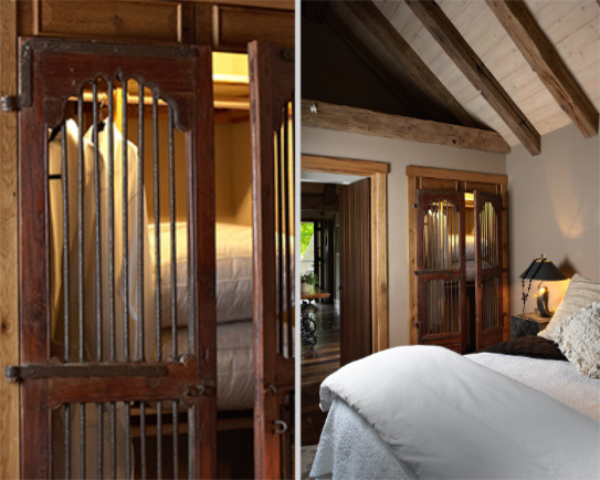 The Gatehouse rustic-bedroom