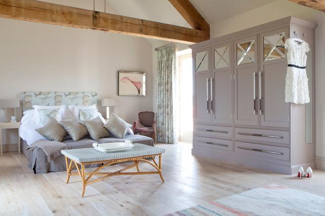 The Grange transitional-bedroom