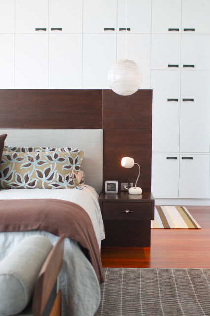 Contemporary Bedroom by Betty Wasserman