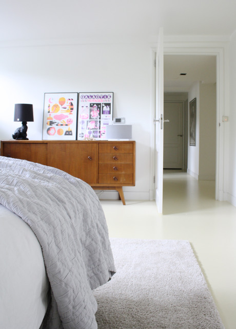 The home of Bianca contemporary-bedroom