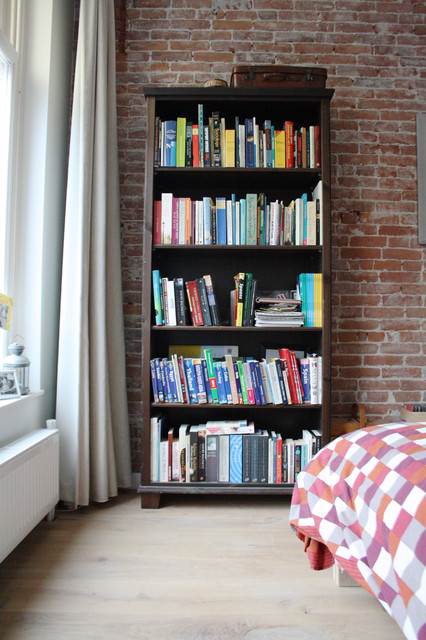 Example of an urban bedroom design in Amsterdam