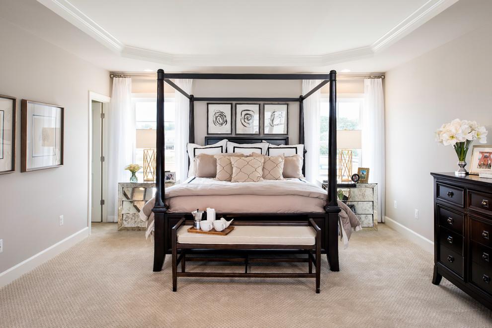 Cette image montre une chambre traditionnelle.