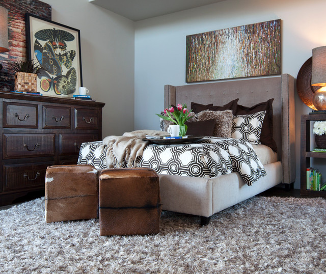 The Lindley Collection contemporary-bedroom