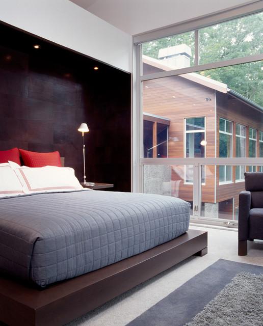 The Line House modern-bedroom