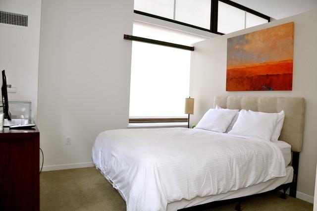 The Lofts at Atlantic Wharf contemporary-bedroom