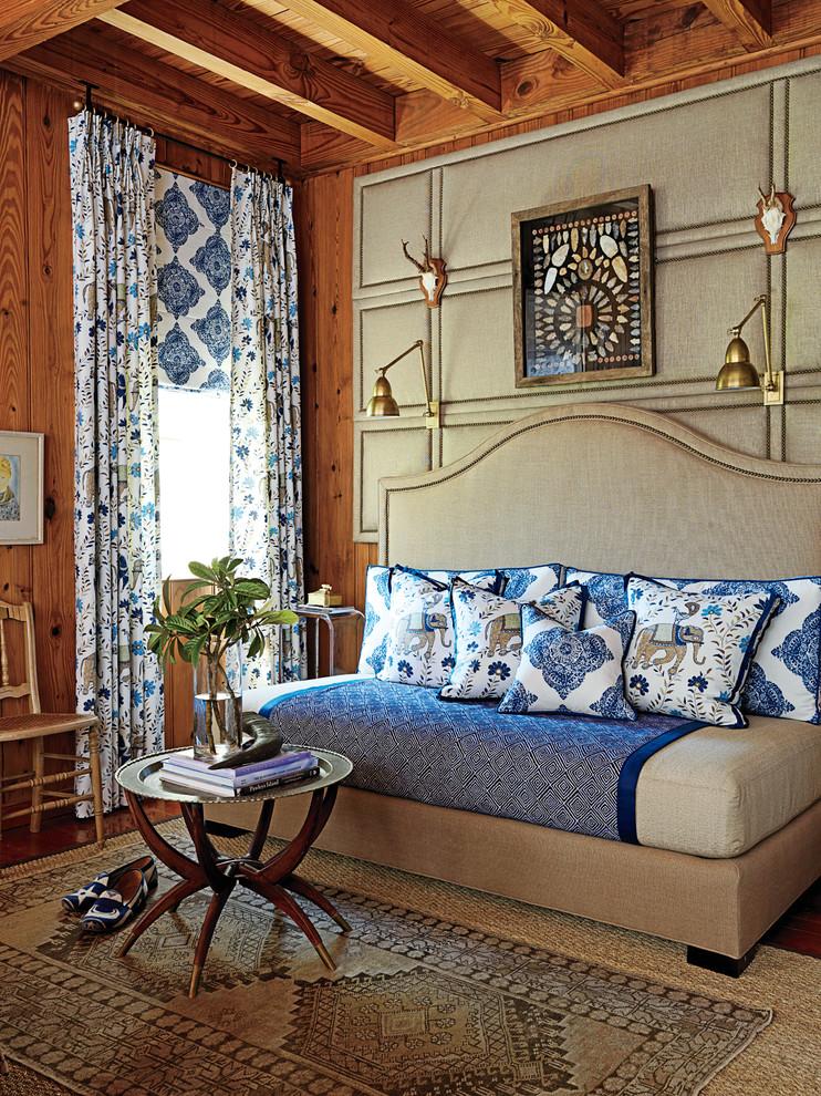 Elegant master bedroom photo in Charleston