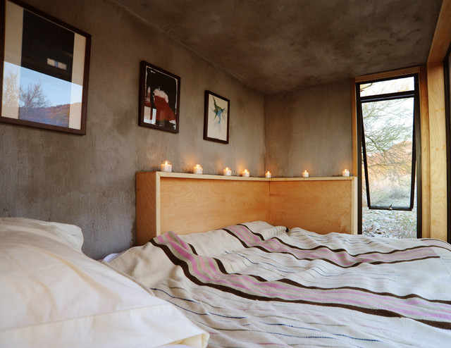The Miner's Shelter contemporary-bedroom