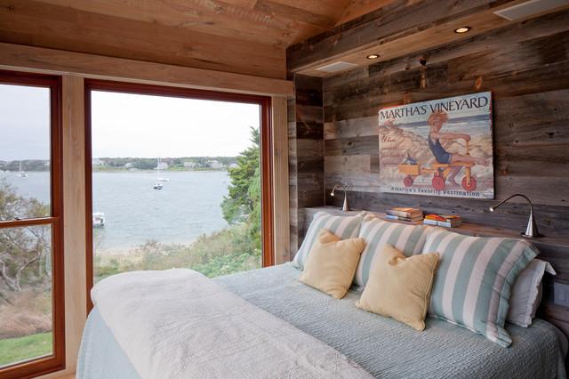 The Nest rustic-bedroom
