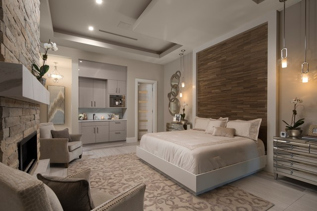 The New American Home 2018 Contemporary Bedroom Orlando By