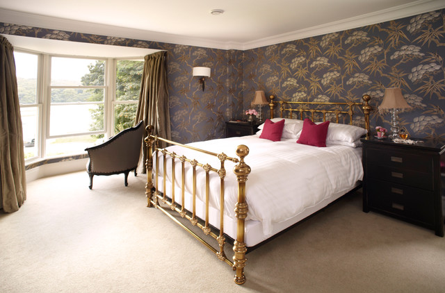 The Old Vicarage, Cornwall, boutique bed & breakfast traditional-bedroom