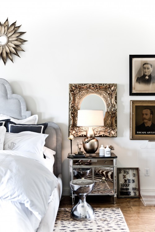 how to rock a mixed metal decor palette - Transitional Castle Decorating