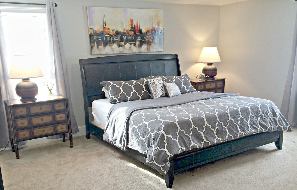 The one with Aries the dog! - Modern - Bedroom - Boston ...
