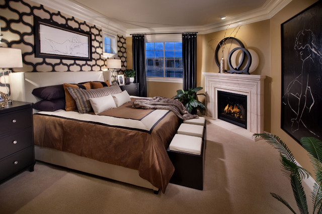 The overlook at heritage hills mediterranean bedroom denver by celebrity communities - Belles chambres a coucher ...