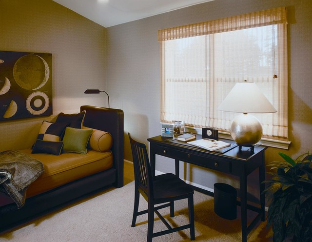 The Pinehills Plymouth, MA model home The Green Co. contemporary-bedroom
