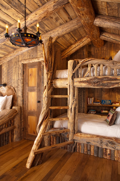 Inspired Log Cabin Interiors Brewster Home