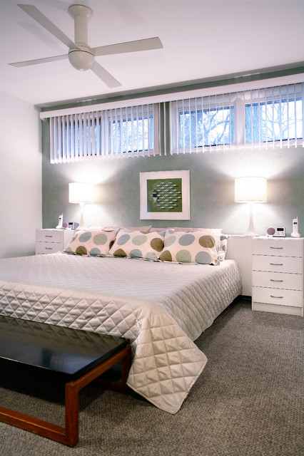 The Pressler House contemporary-bedroom