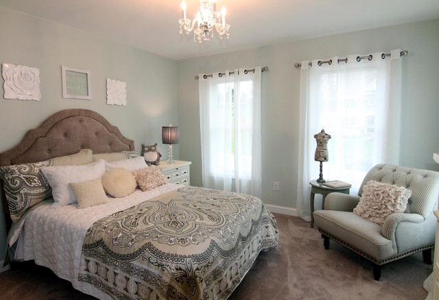 """The """"Princess"""" Room traditional-bedroom"""