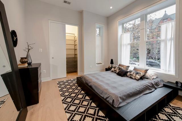 The Q at Dupont Circle contemporary-bedroom