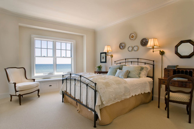 The Redfield Home beach-style-bedroom