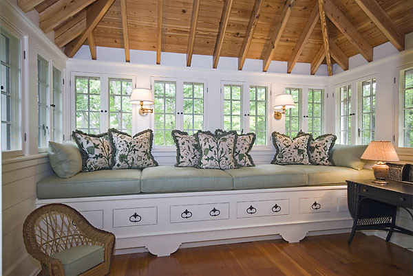 The Reserve at Lake Keowee Retreat eclectic-bedroom