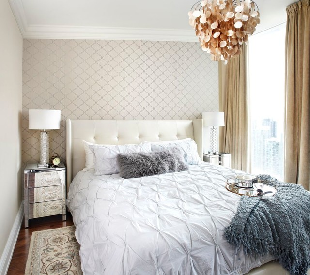 The Ritz, Condo Design, Interior Design Toronto Contemporary Bedroom