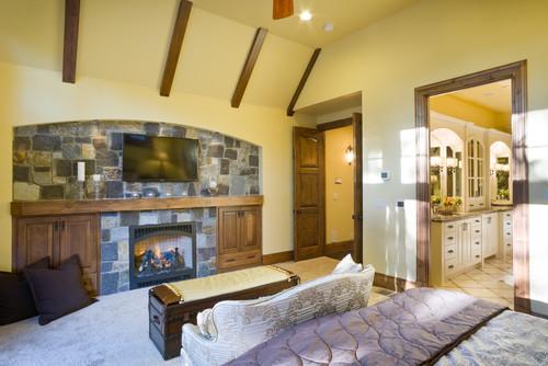 Master bedroom design Alan Mascord Design Associates