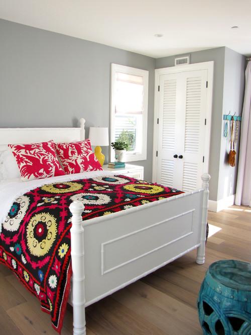 The Sandberg Home eclectic bedroom