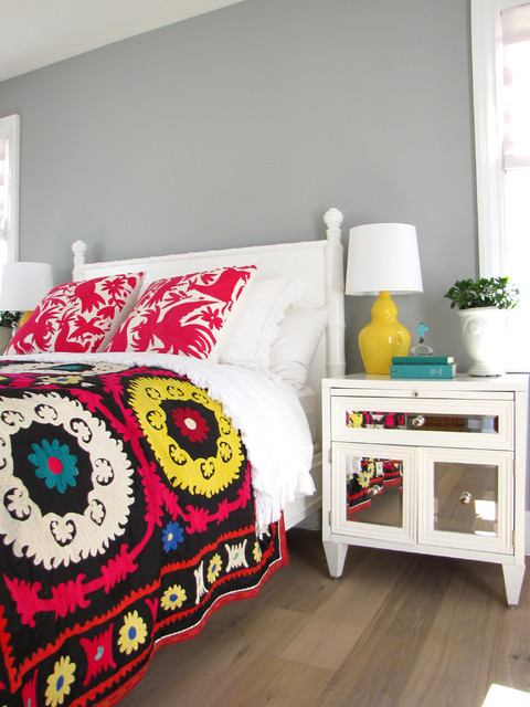 The Sandberg Home beach-style-bedroom
