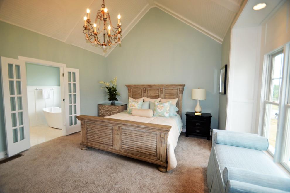 Bedroom - contemporary bedroom idea in Louisville