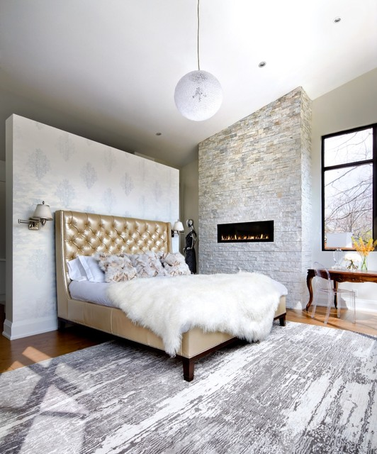 Bedrooms Transitional Home: The Sentinele House