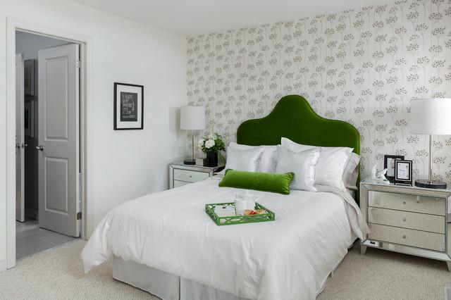 The sunflower bradford ontario transitional bedroom for Sunflower bedroom decor