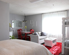 The Upward Bound House by Kelly LaPlante eclectic-bedroom