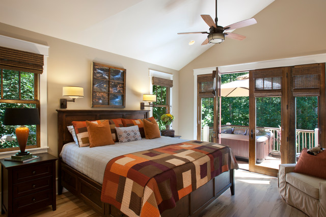 the village of cheshire home - craftsman - bedroom - other -