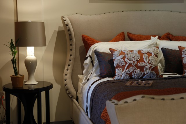 The Wing Chair Bed eclectic-bedroom