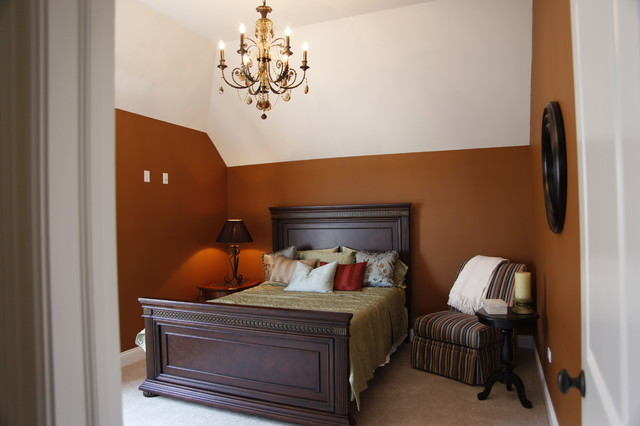 Model Home - The Wyndermere traditional-bedroom