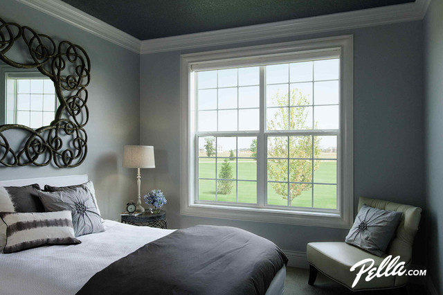 ThermaStar by Pella® single-hung windows transitional-bedroom